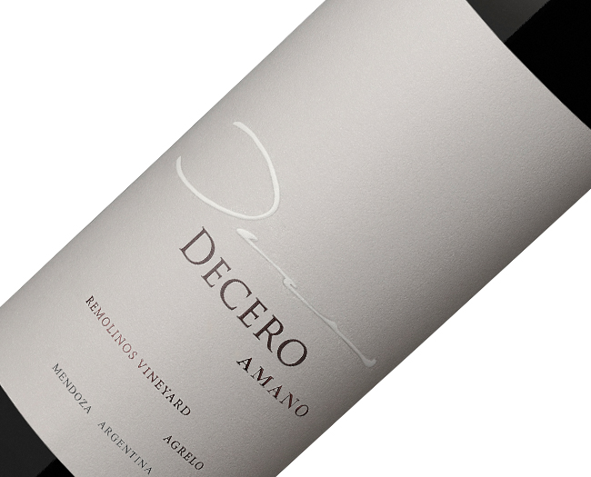 Vinho Decero Amano Remolinos Vineyards 2008
