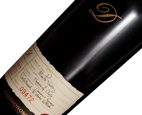 """Vinho Casa Donoso """"D"""" 2007"""