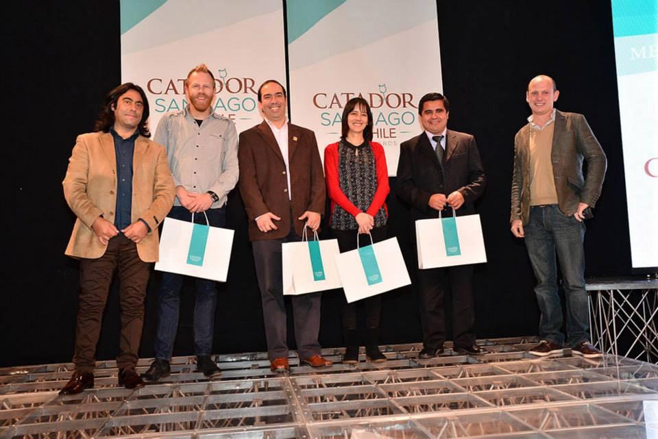 Entrega de medallas Concurso Catador Santiago 204