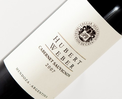 Hubert Weber Cabernet Sauv. Cellar Selection 2007