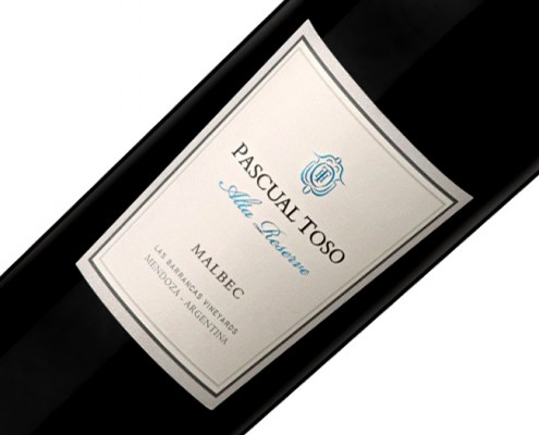 Vinho Pascual Toso Alta Reserva Malbec 2009