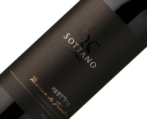 Vinho Sottano Reserva de Familia Malbec 2009