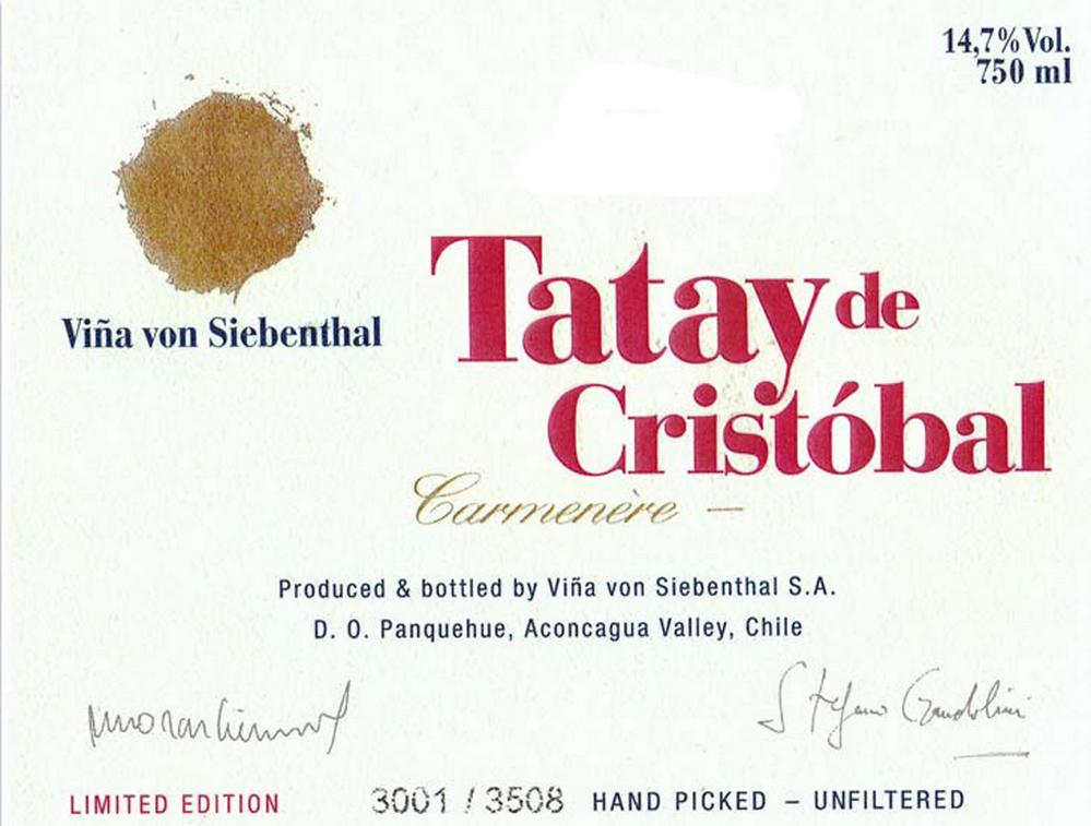 Von Siebenthal Tatay de Cristobal 2007