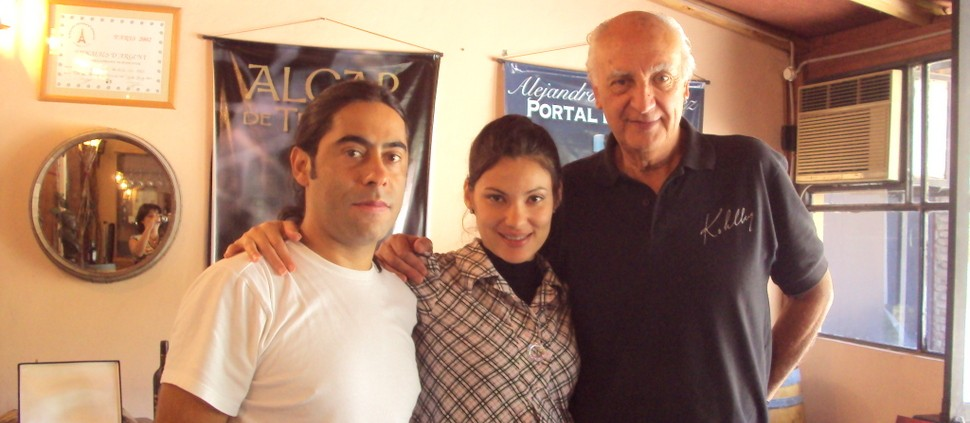 Alex Ordenes, Edneia Benfica e Alejandro Hernandez. Imagem de arquivo (janeiro 2010)