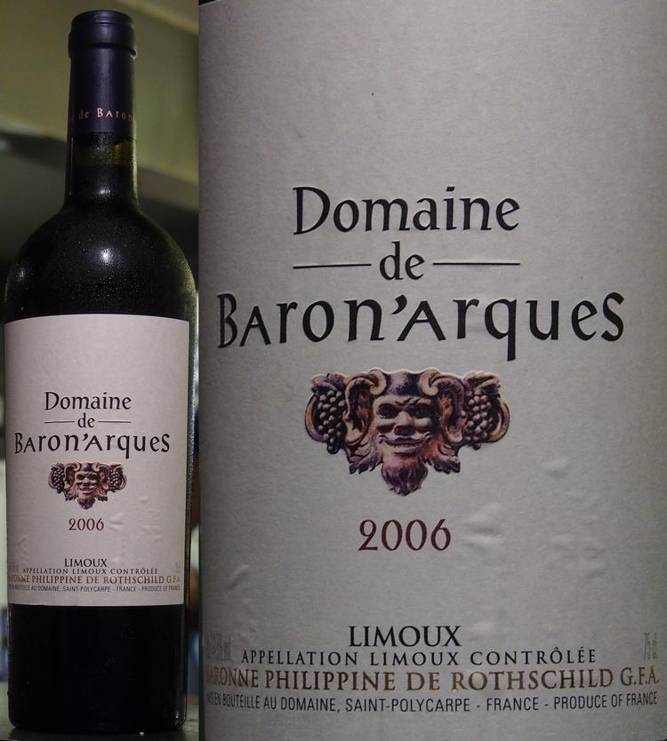 Vinho Baron Philippe de Rothschild Domaine Arques, 2006