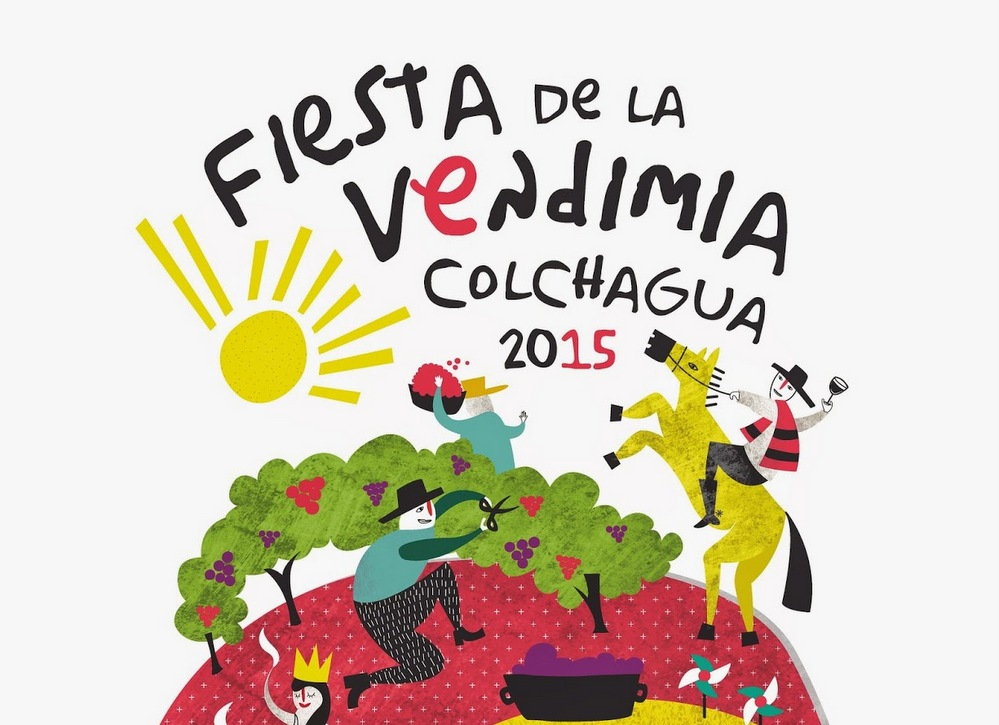 Festa da vindima do vale de Colchagua - Chile 2015