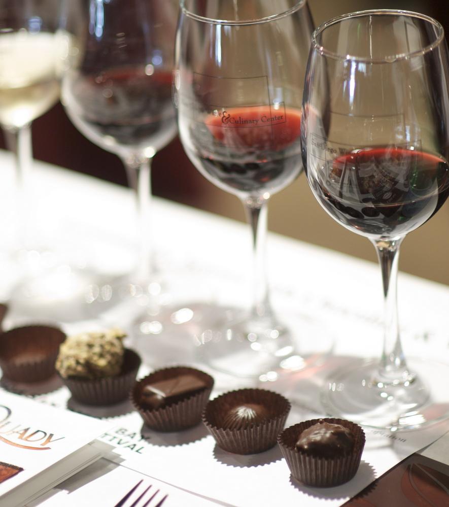 Aprenda como harmonizar vinhos com chocolate
