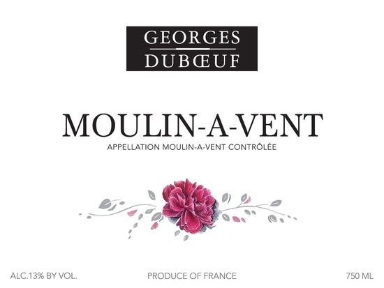 Georges Duboeuf Moulin a Vent