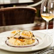 Bacalhau e vinho branco