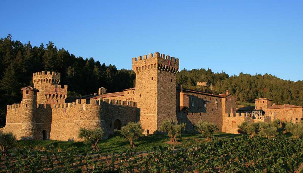 Castello di Amorosa, Toscana, Italia