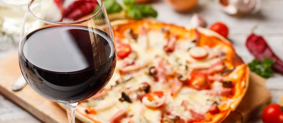 Pizza Hut inclui vinhos da vinicola Concha Y Toro