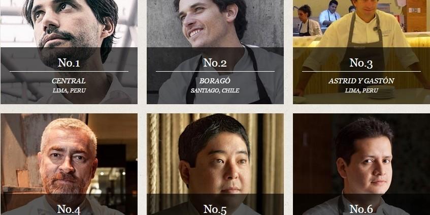 Latin Americas's 50 Best Restaurants 2015