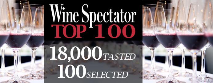 Lista completa da Wine Spectator e 100 melhores vinhos do ano 2015