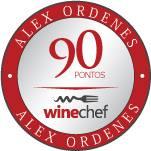 Vinho Namaqua Shiraz, 2008 - 90 pontos Winechef