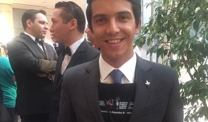 O candidato chileno Marcelo Pino