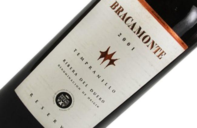 Vinho Bracamonte Reserva, 2001