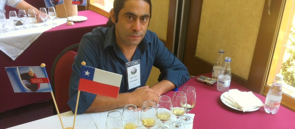 Alex Ordenes, editor de Winechef e jurado do Concurso Mundial de Bruxelas, Brasil