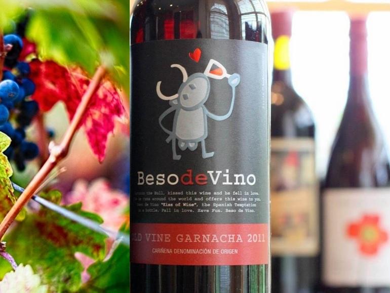 Beso de Vinho Old Vines Garnacha, 2009