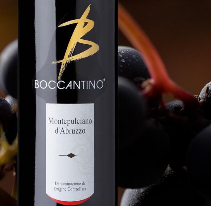 Boccantino Montepulciano D'Abruzzo, 2014. ITALIA