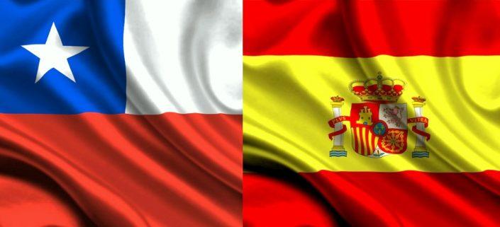 Chile versus Espanha