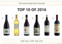 Lista completa os vinhos Top 100 Wine Spectator 2016