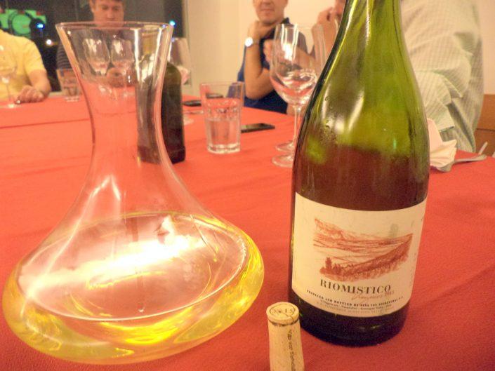 O vinho Von Siebenthal Rio Místico Viognier, 2015 decantado