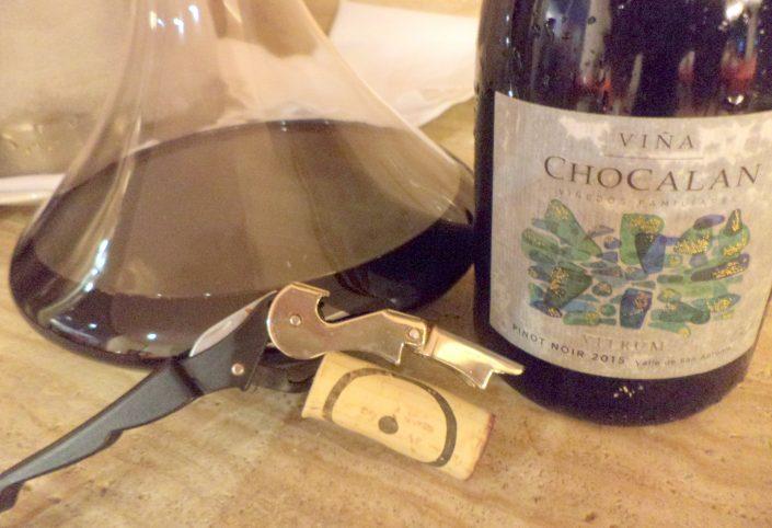 Chocalan Vitrum Pinot Noir, 2015