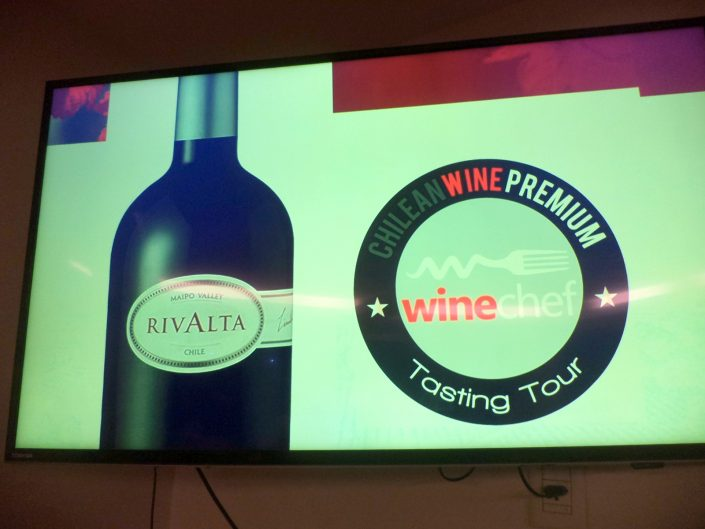 Apresentação do vinho Santa Ema Rivalta 2007