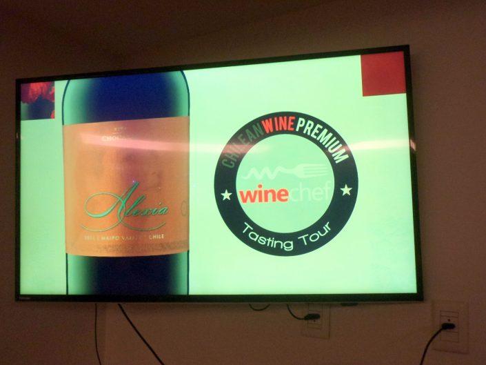 Apresentação do vinho Chocalan Alexia, 2011