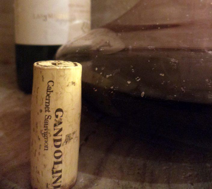 Rolha do vinho Gandolini Wines Las 3 Marías, 2012