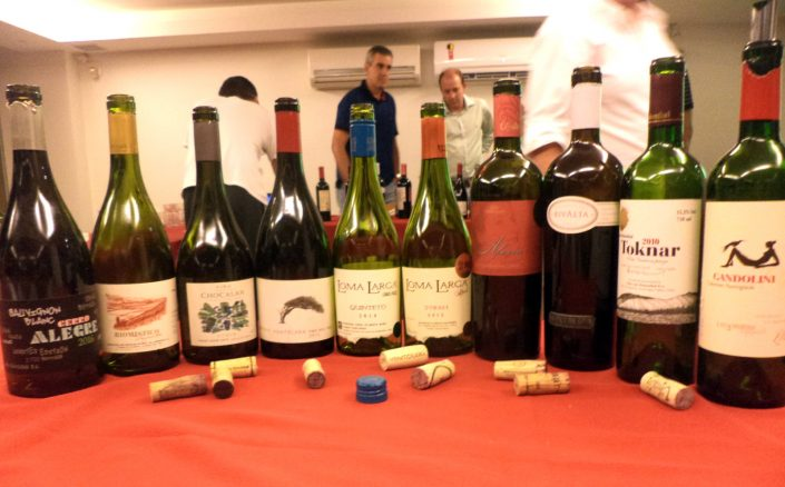 Vinhos da O primeiro evento Chilean Premium Wines – Tasting Tour que foi realizado na Adega Canto do Vinho