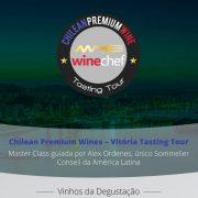 Chilean Premium Wine no Pier Aleixo, em Vitória