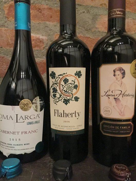 Loma Larga Cabernet Franc, Flaherty Blend e Laura Hartwig Single Edición de Família